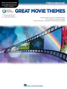 Great Movie Themes (for Trombone Instrumental Play-Along) (HL-00139149)