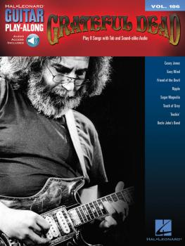 Grateful Dead: Guitar Play-Along Vol. 186 (HL-00139459)
