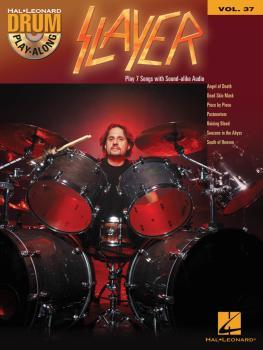 Slayer: Drum Play-Along Volume 37 (HL-00139861)