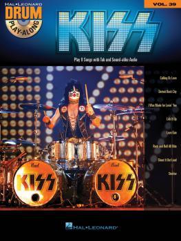 Kiss: Drum Play-Along Volume 39 (HL-00143937)