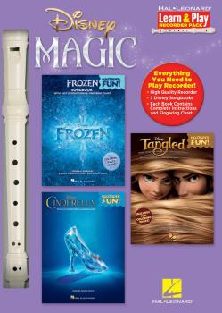 Disney Magic - Learn & Play Recorder Pack: 3 Songbooks + Recorder (HL-00144054)