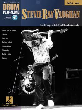 Stevie Ray Vaughan: Drum Play-Along Volume 40 (HL-00146155)