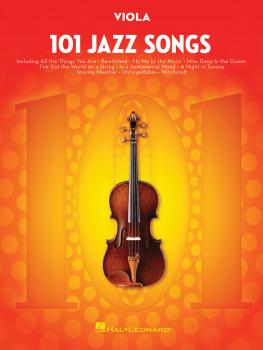 101 Jazz Songs for Viola (HL-00146372)
