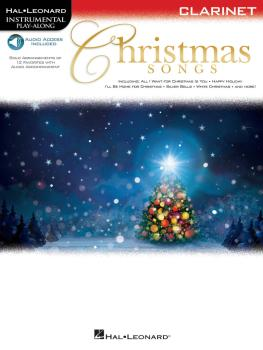 Christmas Songs (for Clarinet Instrumental Play-Along) (HL-00146858)