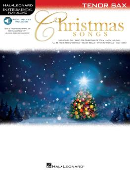 Christmas Songs (for Tenor Sax Instrumental Play-Along) (HL-00146860)