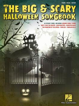The Big & Scary Halloween Songbook (HL-00148012)