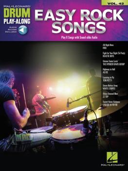 Easy Rock Songs: Drum Play-Along Volume 42 (HL-00148143)