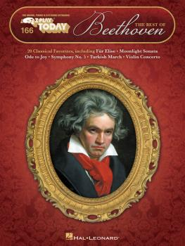 The Best of Beethoven: E-Z Play Today Volume 166 (HL-00149300)