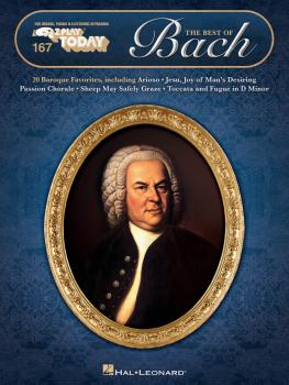 The Best of Bach: E-Z Play Today Volume 167 (HL-00149736)