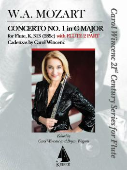 Concerto No. 1 in G Major for Flute, K. 313 (With Flute 2 Part) (HL-00151294)