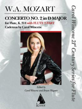 Concerto No. 2 in D Major for Flute, K. 314 (With Flute 2 Part) (HL-00151295)