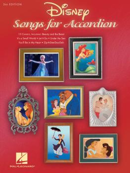 Disney Songs for Accordion - 3rd Edition (HL-00152508)