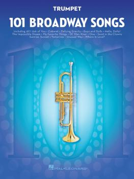 101 Broadway Songs for Trumpet (HL-00154203)