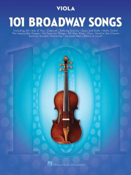 101 Broadway Songs for Viola (HL-00154207)