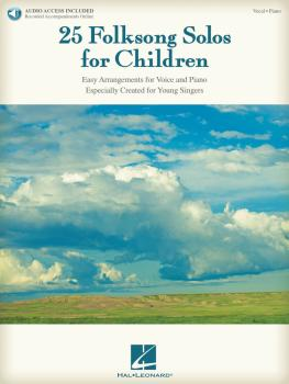 25 Folksong Solos for Children (with Recorded Accompaniments) (HL-00154679)