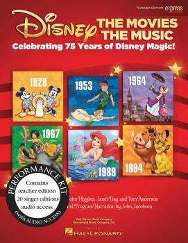 Disney: The Movies The Music: Celebrating 75 Years of Disney Magic! (HL-00155291)