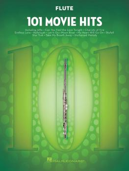 101 Movie Hits for Flute (HL-00158087)