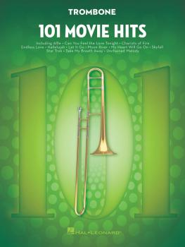 101 Movie Hits for Trombone (HL-00158093)