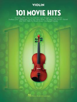 101 Movie Hits for Violin (HL-00158094)