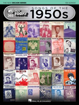 Songs of the 1950s - The New Decade Series: E-Z Play® Today Volume 365 (HL-00159571)
