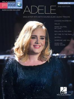 Adele: Pro Vocal Women's Edition Volume 56 (HL-00160119)