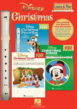 Disney Christmas: Learn & Play Recorder Pack (HL-00172426)