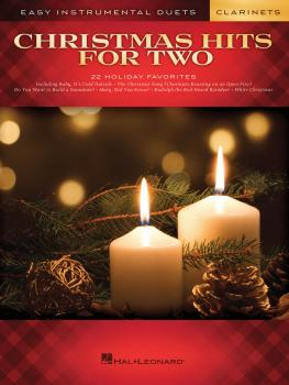 Christmas Hits for Two Clarinets: Easy Instrumental Duets (HL-00172462)