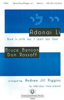 Adonai Li (God Is With Me, I Shall Not Fear) (HL-00191057)