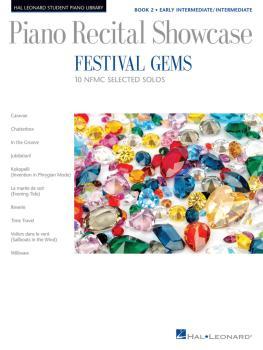 Festival Gems Book 2 - 10 Outstanding NFMC Early Intermediate/Intermed (HL-00193587)