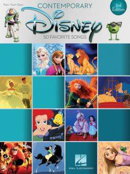 Contemporary Disney - 3rd Edition (50 Favorite Songs) (HL-00195620)