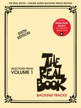 The Real Book - Selections from Volume 1: Play-Along Audio Tracks (HL-00200984)