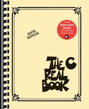 The Real Book - Volume 1: Sixth Edition: C Instruments Book with Onlin (HL-00200986)