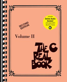 The Real Book - Volume 2: Second Edition: Book with Play-Along Tracks (HL-00200987)