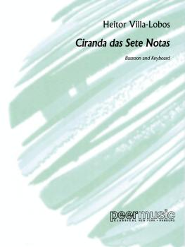 Ciranda das sete Notas (for Bassoon and Keyboard) (HL-00227185)