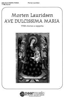 Ave dulcissima Maria (TTBB a cappella) (HL-00229068)