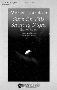 Sure on This Shining Night (from Nocturnes SATB and Piano) (HL-00229069)
