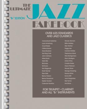 The Ultimate Jazz Fake Book (B-flat Edition) (HL-00240080)