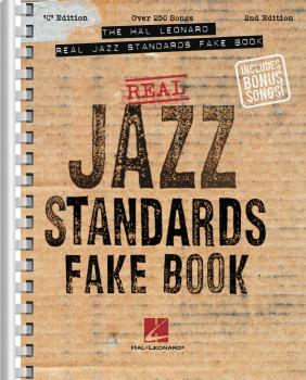 The Hal Leonard Real Jazz Standards Fake Book - 2nd Edition (C Edition (HL-00240161)