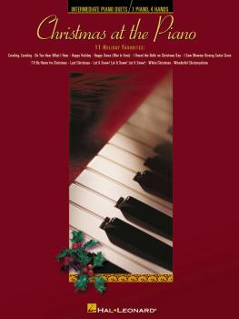 Christmas at the Piano (Duets for 1 piano/4 hands) (HL-00290524)