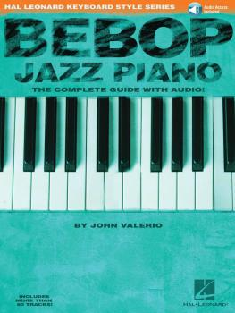 Bebop Jazz Piano: Hal Leonard Keyboard Style Series (HL-00290535)