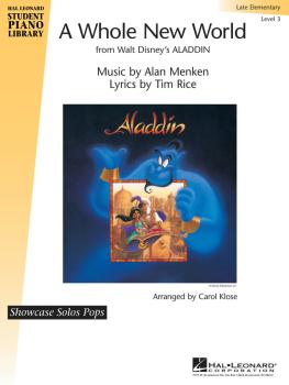 A Whole New World: Hal Leonard Student Piano Library Showcase Solos Po (HL-00296674)