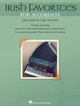 Irish Favorites for Accordion (HL-00311328)