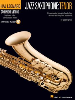 Hal Leonard Tenor Saxophone Method: Jazz Saxophone: Tenor (HL-00311413)