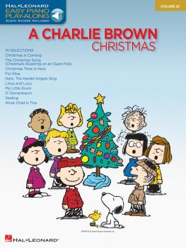 Charlie Brown Christmas: Easy Piano Play-Along Volume 29 (HL-00311913)