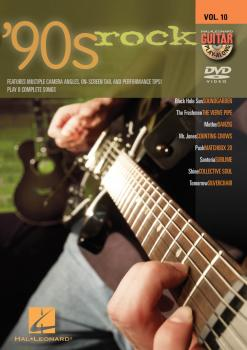 '90s Rock: Guitar Play-Along DVD Volume 10 (HL-00320526)