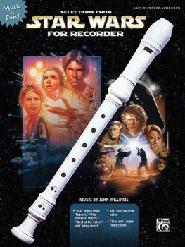 Selections from Star Wars for Recorder (Book Only) (HL-00322024)