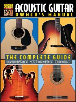 Acoustic Guitar Owner's Manual (The Complete Guide) (HL-00330532)
