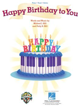 Happy Birthday to You (Piano/Vocal/Guitar) (HL-00353849)
