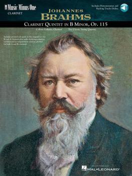 Brahms - Clarinet Quintet in B minor, Op. 115 (2-CD Set) (HL-00400323)