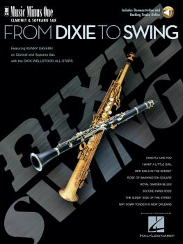 From Dixie to Swing: Music Minus One Clarinet or Soprano Sax (HL-00400613)